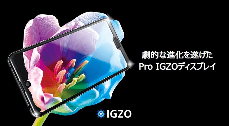 Pro IGZOディスプレイ